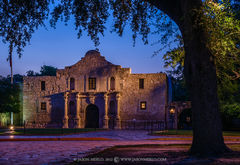 Mission San Antonio de Valero, The Alamo, San Antonio, South Texas, Texas Revolution