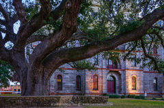 Goliad, Goliad County courthouse, Texas county courthouse, Hanging Tree