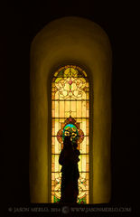 2014082808, Silhouette of the Virgin Mary