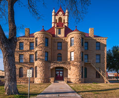 Brady, McCulloch County courthouse, Texas county courthouse