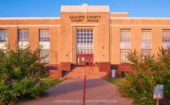 Fredericksburg, Gillespie County courthouse, Texas county courthouse