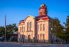 Lampasas, Lampasas County courthouse, Texas county courthouse