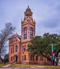 Llano, Llano County courthouse, Texas county courthouse