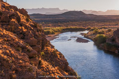 Big Bend National Park, Brewster County, Texas, West Texas, Chihuahuan Desert, Rio Grande, river, Santa Elena Canyon