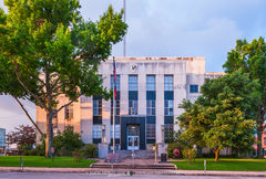Brenham, Washington County courthouse, Texas county courthouse
