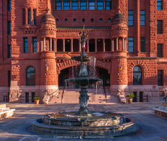 San Antonio, Bexar County courthouse, Texas county courthouse, Lady Justice Fountain