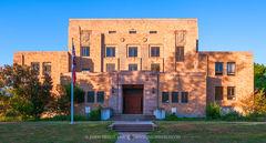 Menard, Menard County courthouse, Texas county courthouse