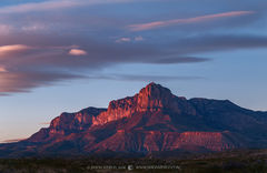 Guadalupe Mountains National Park, West Texas, Culberson County, Chihuahuan Desert