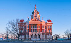 Gatesville, Coryell County courthouse, Texas county courthouse
