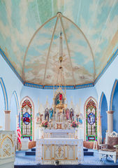 St. Mary's Catholic Church, Hallettsville, Lavaca County, Painted Churches of Texas
