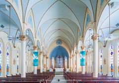 Our Lady of Grace Catholic Church, La Coste, Medina County, Painted Churches of Texas