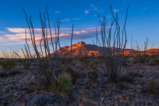 Guadalupe Mountains National Park, West Texas, National Park Service, NPS, Culberson County, Chihuahuan Desert, Williams Ranch, sunset