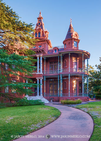 Austin, University of Texas, campus, George W. Littlefield, house
