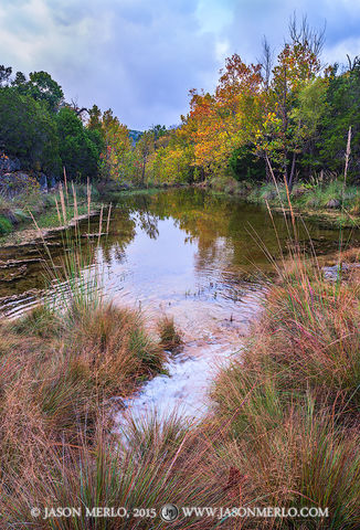 Colorado Bend State Park, Texas Hill Country, San Saba County, Spicewood Springs Creek