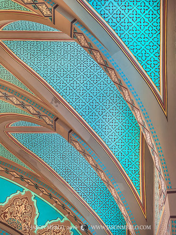 2016061706, Painted ceiling arches