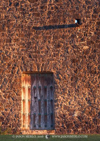 Presidio Nuestra Señora de Loreto de la Bahía, Goliad, South Texas, Presidio la Bahía, door