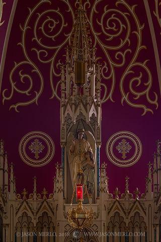 Guardian Angel Catholic Church, Wallis, Austin County, Painted Churches of Texas