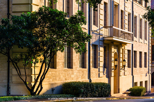 Austin, University of Texas, campus, Parlin Hall