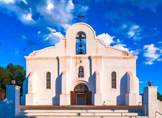 San Elizario Presidio Chapel, El Paso, Texas, West Texas