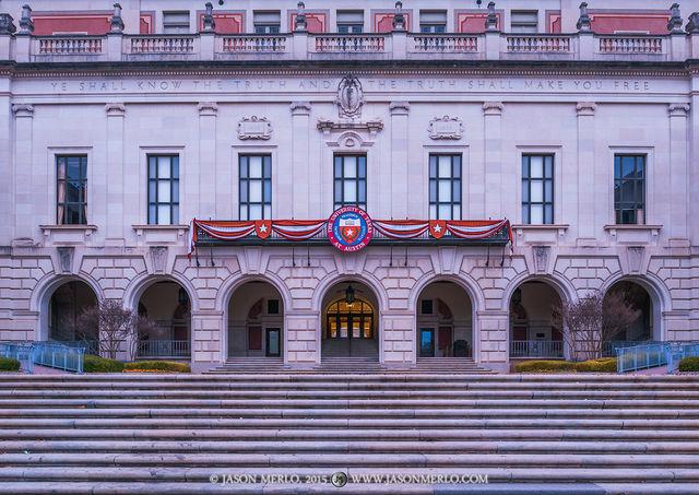 Austin, University of Texas, campus, Main Building, seal, Explore UT