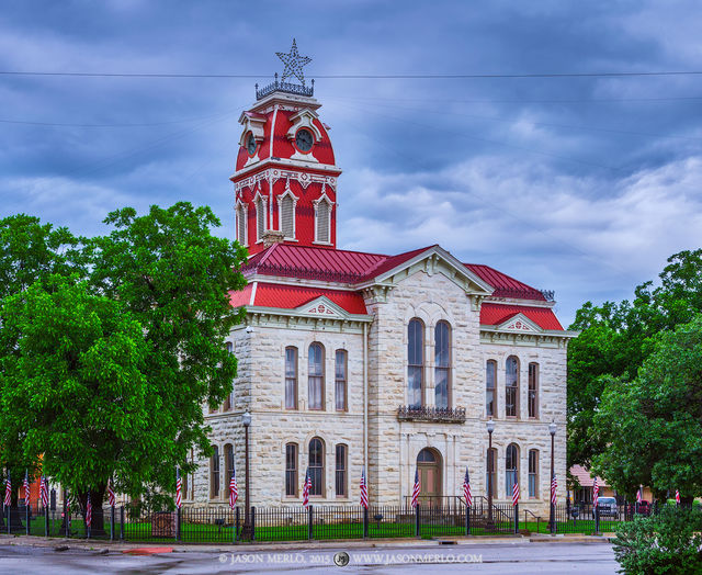 Lampasas, Lampasas County courthouse, Texas county courthouse