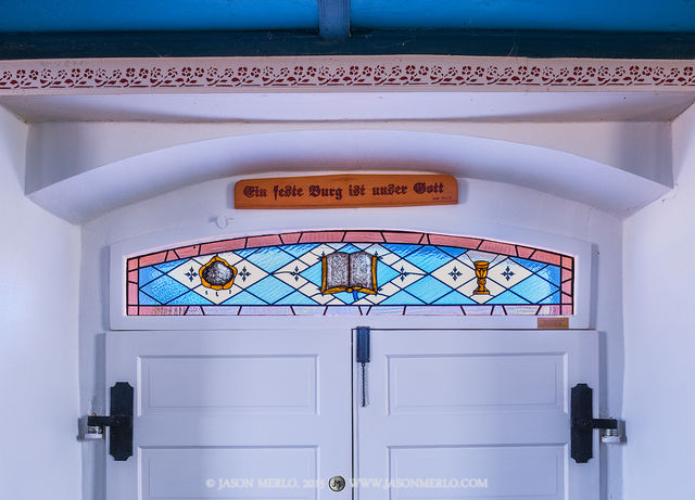 St Paul's Lutheran Church, Serbin, Lee County, Painted Churches of Texas