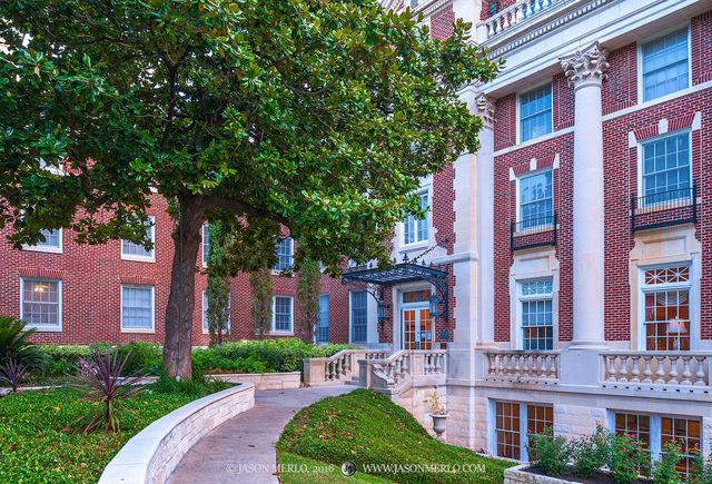 Austin, University of Texas, campus, Scottish Rite Dormitory