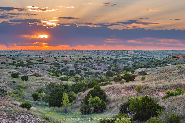 Armstrong County, Claude, Texas Panhandle Plains, North Texas, West Texas, Llano Estacado, High Plains, sunrise