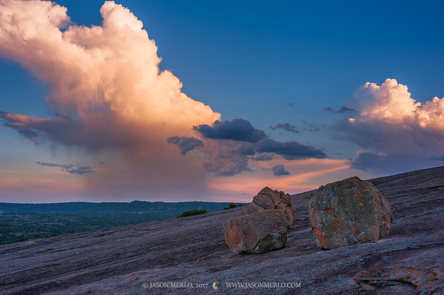 Enchanted Rock State Natural Area, state park, Texas Hill Country, Llano, Fredericksburg, Llano County, Gillespie County, Llano Uplift, rain