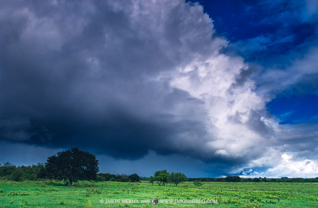 San Saba County, Texas Cross Timbers, Texas Hill Country, storm, clouds