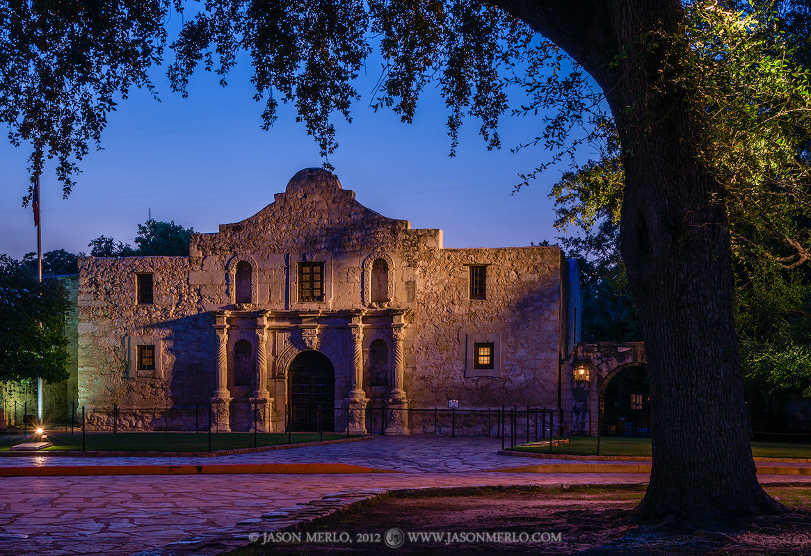 Mission San Antonio de Valero, The Alamo, San Antonio, South Texas, Texas Revolution, photo