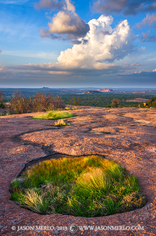 Enchanted Rock State Natural Area, state park, Texas Hill Country, Llano, Fredericksburg, Llano County, Gillespie County, Llano Uplift, vernal pool, photo