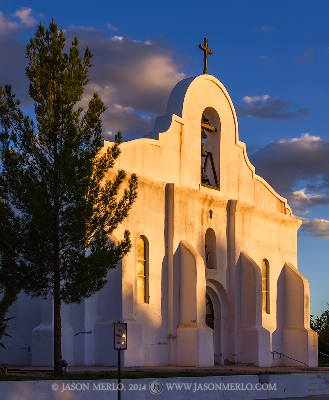 San Elizario Presidio Chapel, El Paso, Texas, West Texas, photo