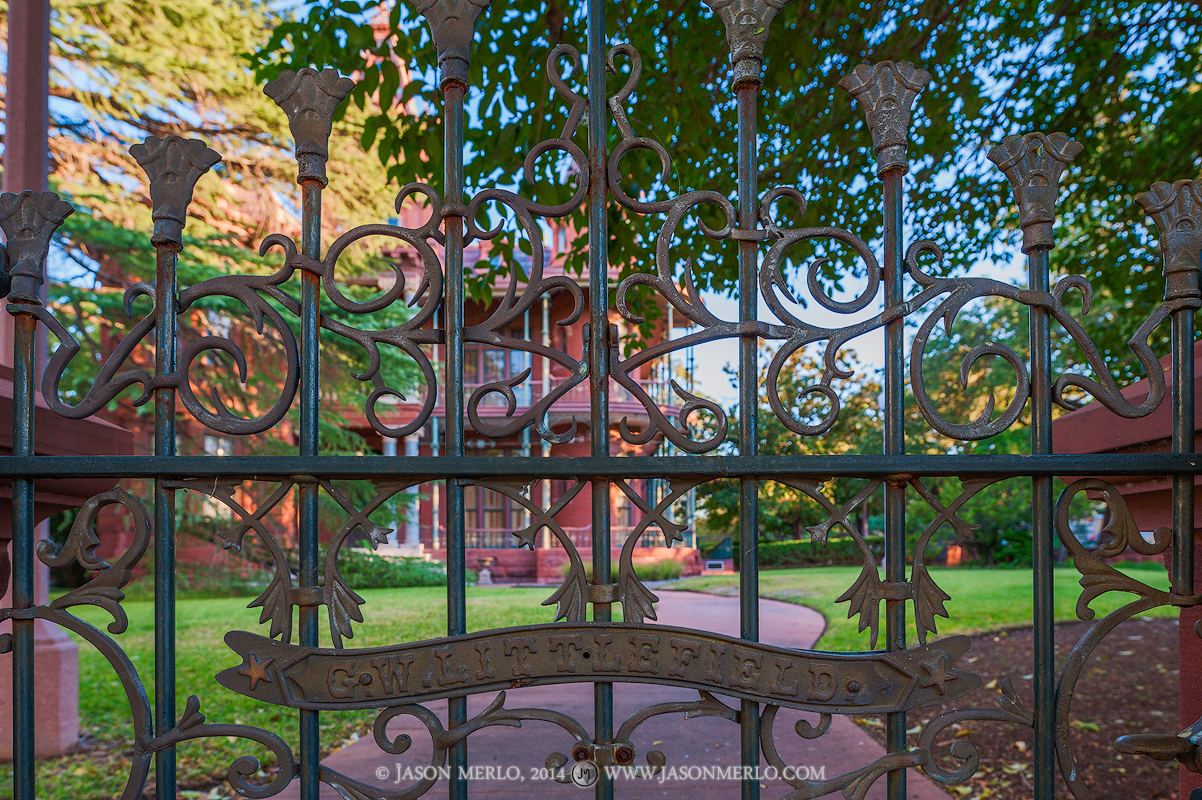 Austin, University of Texas, campus, gate, George Littlefield, house, home, photo