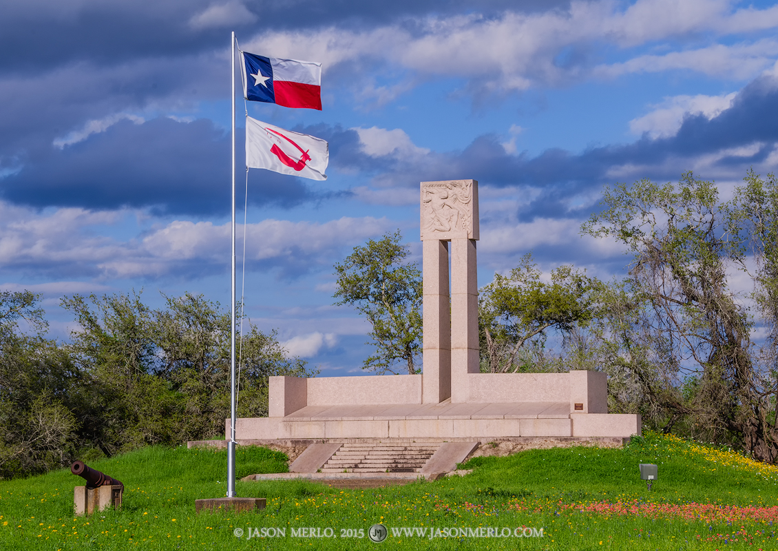 Fannin Memorial Monument, Presidio la Bahía, Goliad, Texas, Texas Revolution, 1836, independence, photo
