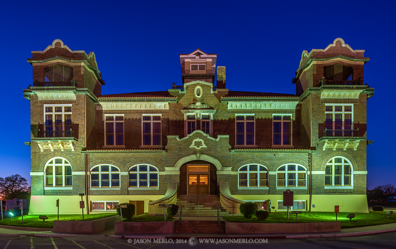 Jourdanton, Atascosa County courthouse, Texas county courthouse, photo
