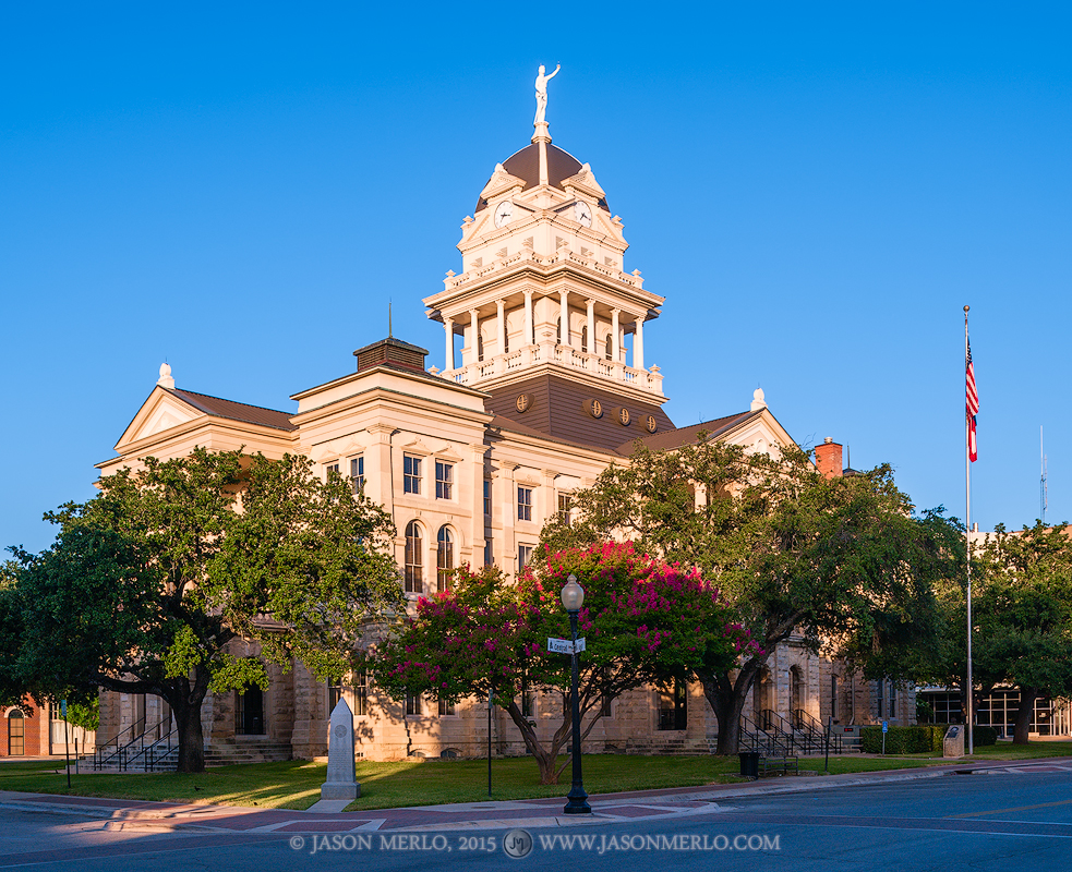 Belton, Bell County courthouse, Texas county courthouse, photo