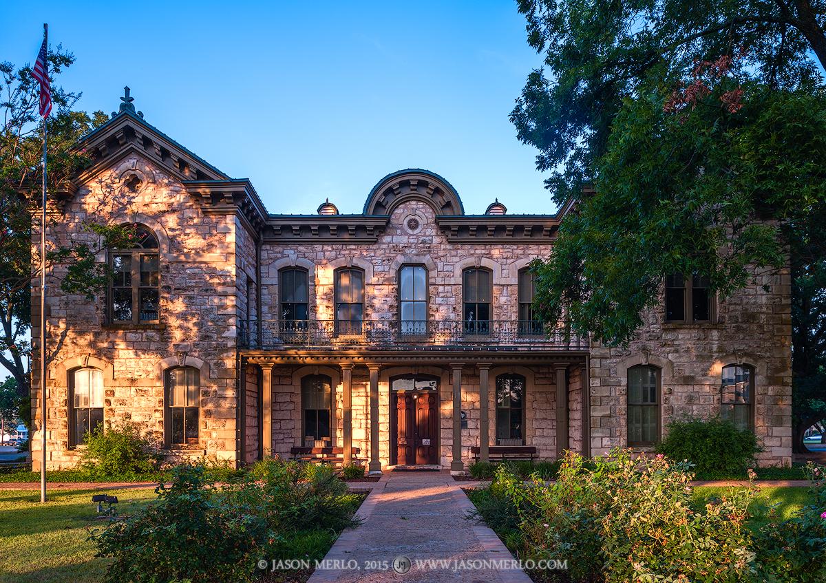Fredericksburg, Gillespie County courthouse, Texas county courthouse, retired, photo