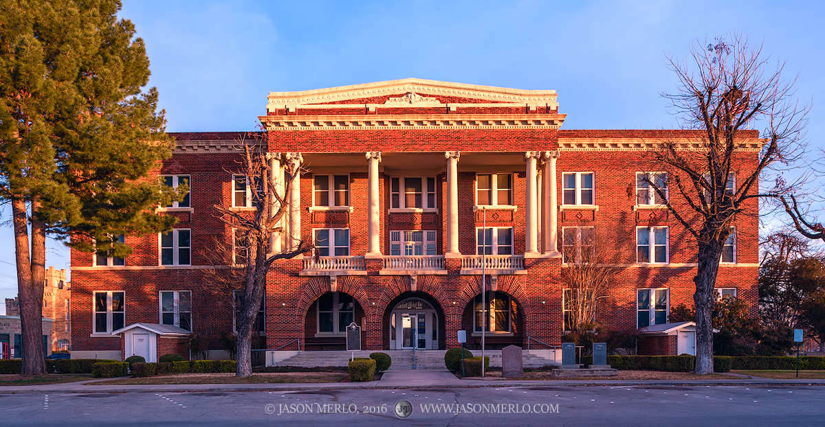 Brownwood, Brown County courthouse, Texas county courthouse, photo