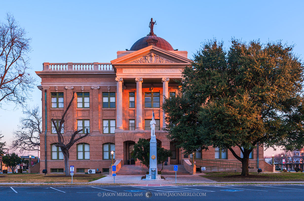 Georgetown, Williamson County courthouse, Texas county courthouse, photo