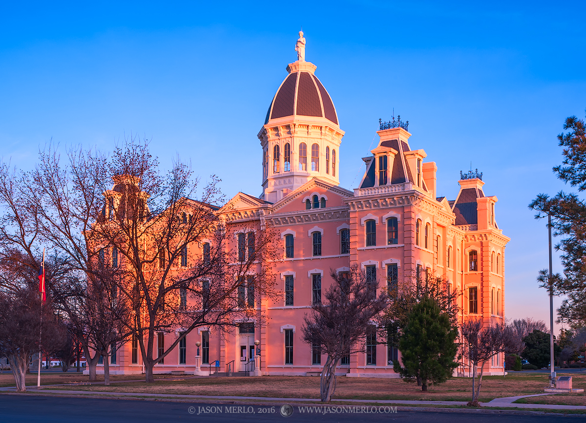 Marfa, Presidio County courthouse, Texas county courthouse, photo