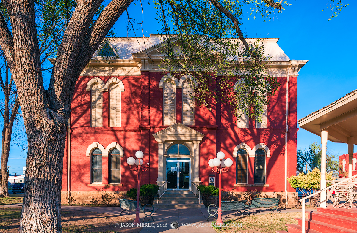 Alpine, Brewster County courthouse, Texas county courthouse, photo