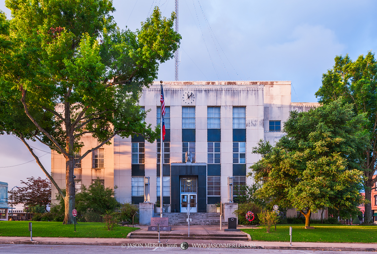 Brenham, Washington County courthouse, Texas county courthouse, photo
