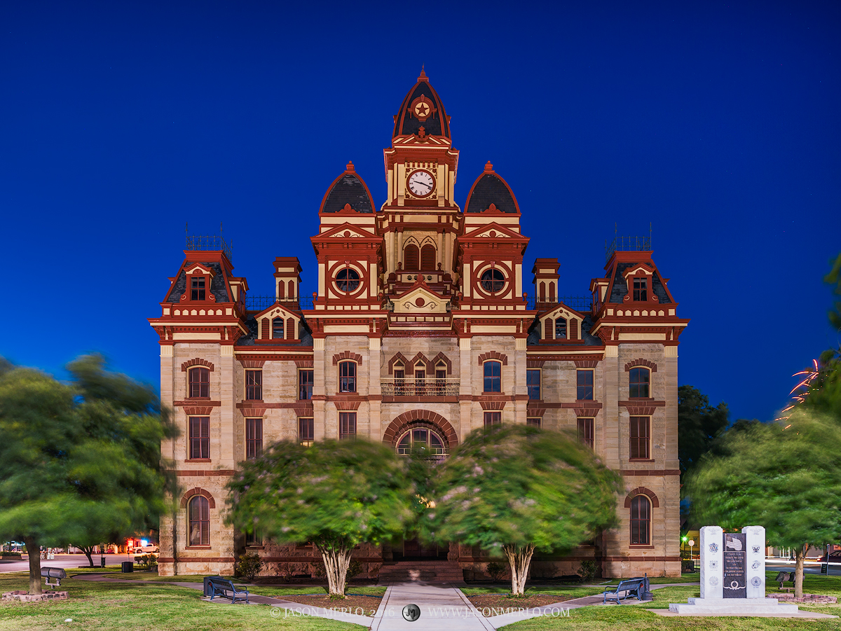 Lockhart, Caldwell County courthouse, Texas county courthouse, photo