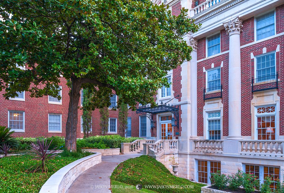 Austin, University of Texas, campus, Scottish Rite Dormitory, photo