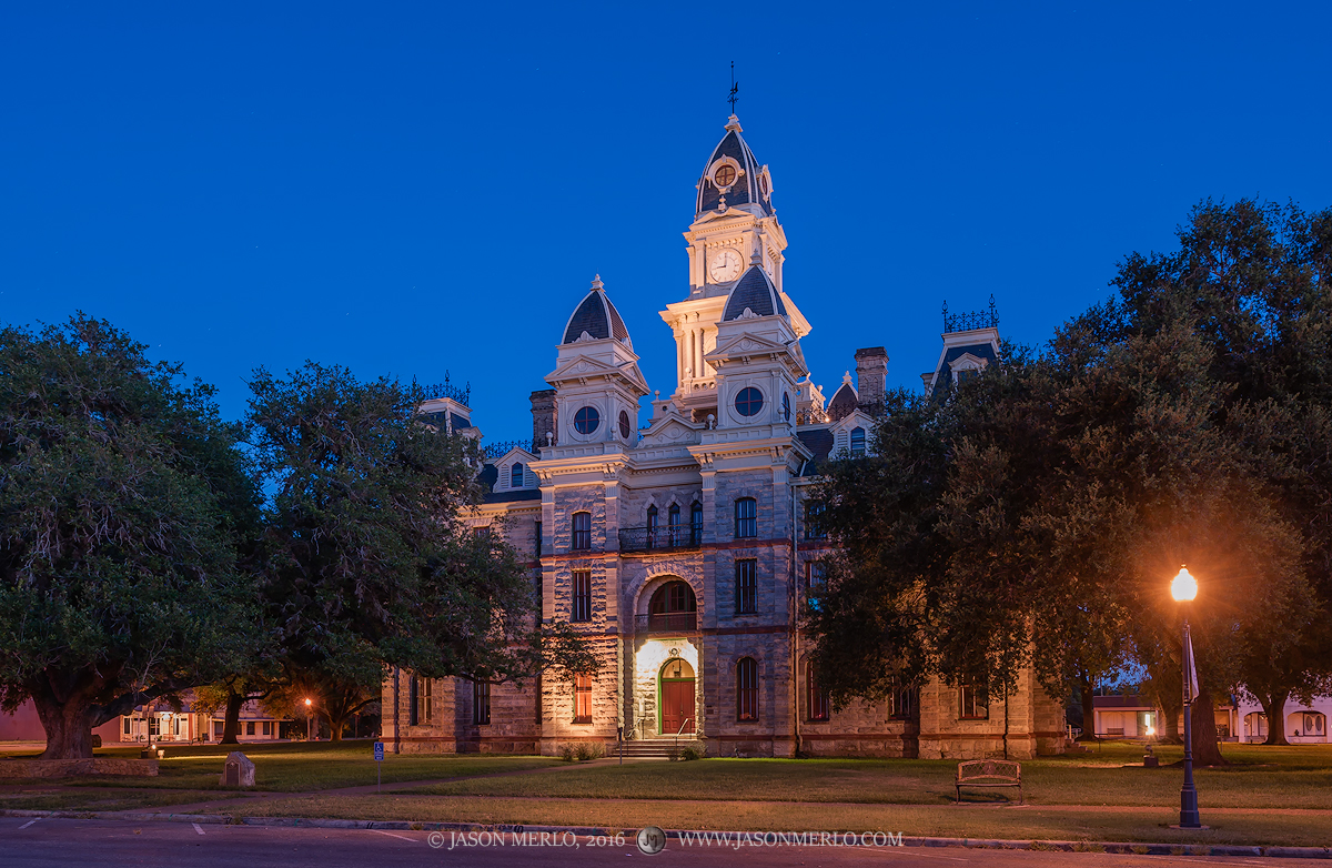 Goliad, Goliad County, Texas county courthouse, photo