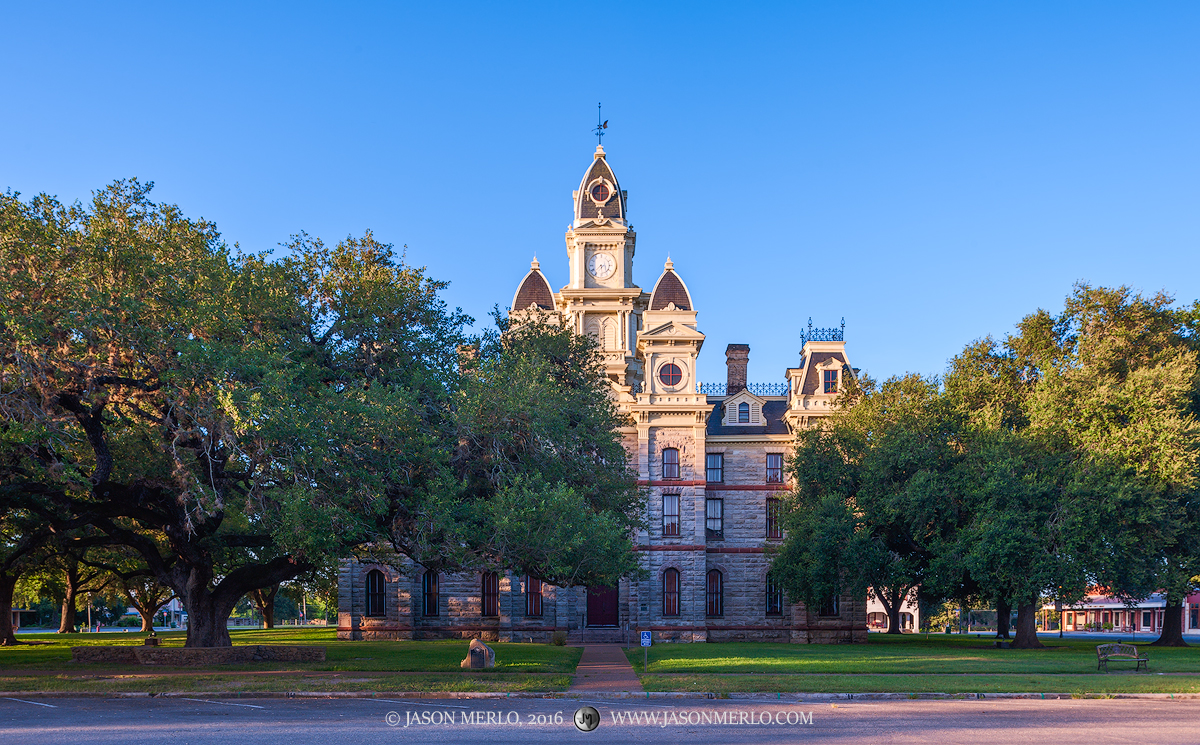 Goliad, Goliad County courthouse, Texas county courthouse, photo