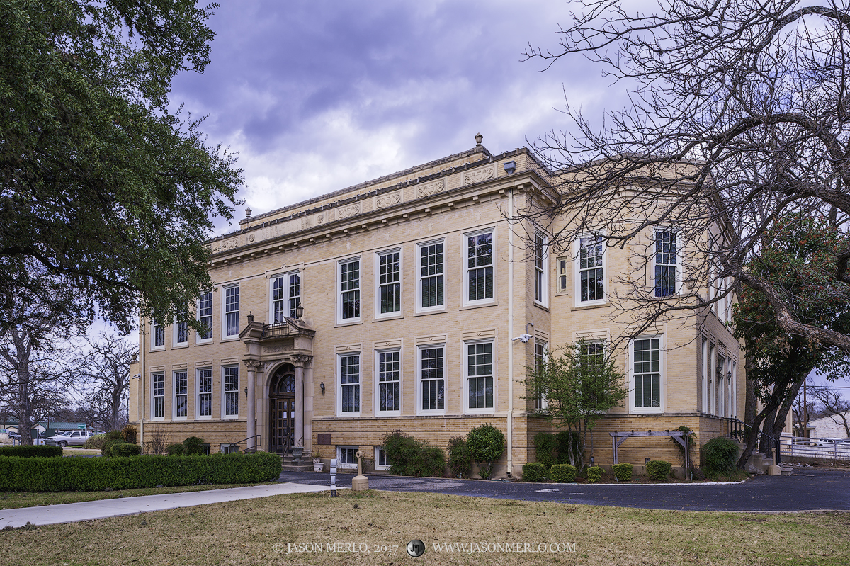 Kerrville, Kerr County courthouse, Texas county courthouse, photo