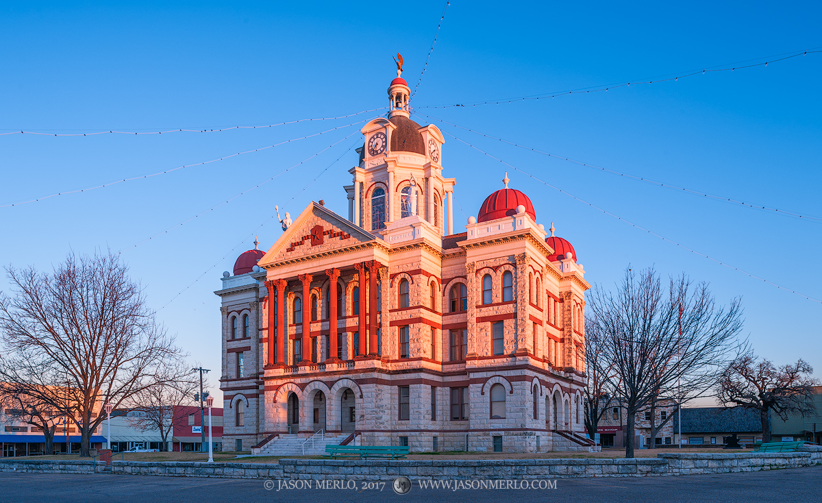 Gatesville, Coryell County courthouse, Texas county courthouse, photo