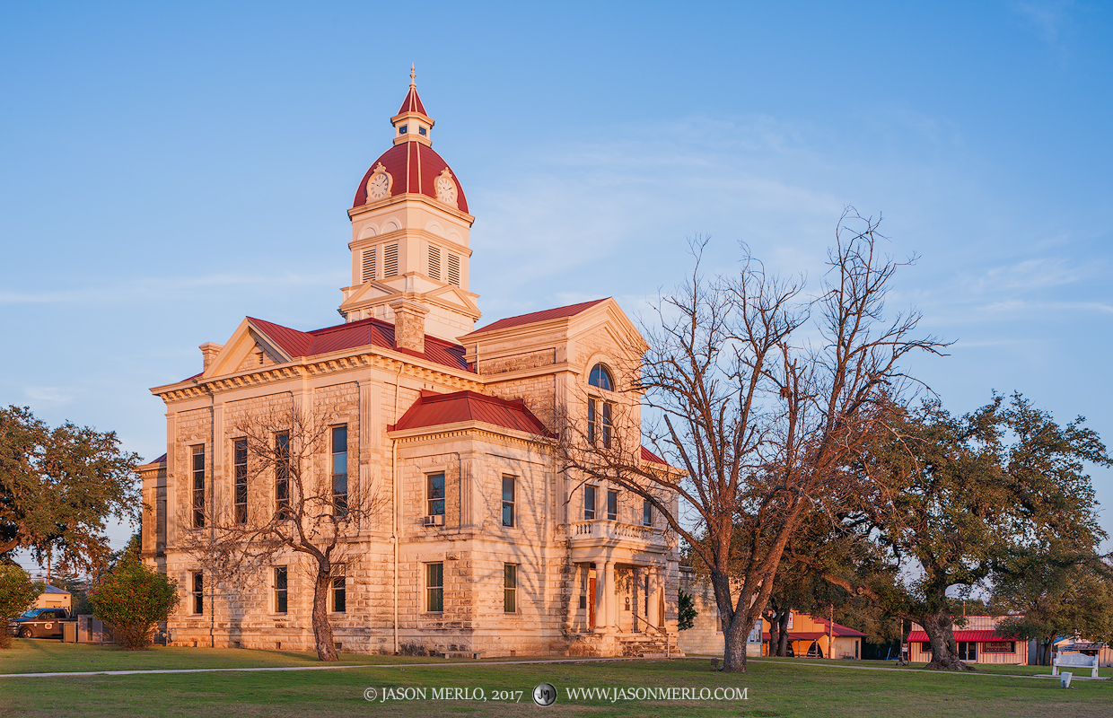 Bandera, Bandera County courthouse, Texas county courthouse, photo